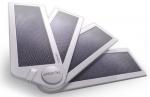Зарядные  устройства  на основе  солнечных батарей