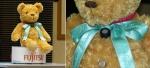 Плюшевый  мишка-робот от Fijitsu